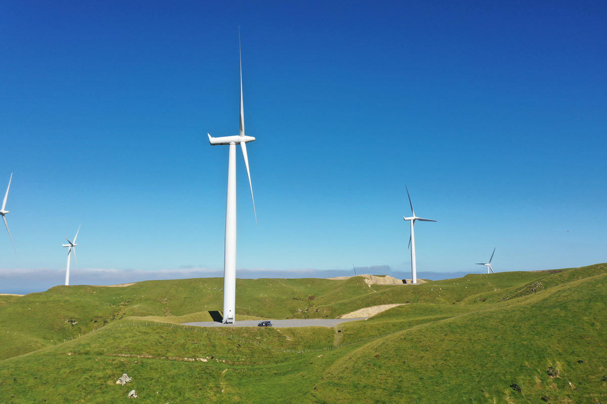 Stand Under The Turbines